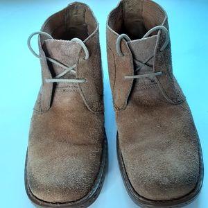 Born Suede lace up boots sz 11